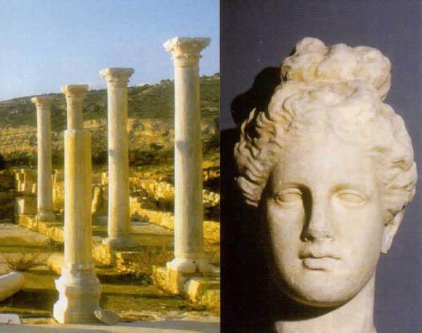 История Кипра - колонны
