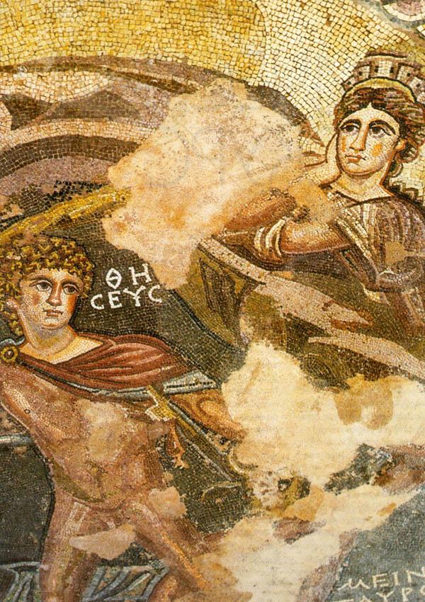 История Кипра - мозаика
